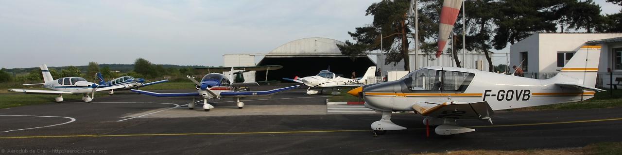 Les avions de l'aéroclub